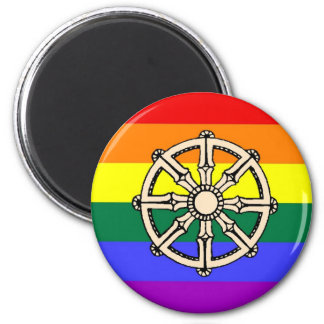 Gay Buddhist Pride Magnet
