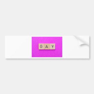 Gay Bumper Stickers