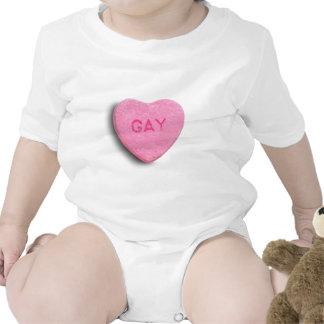 GAY CANDY HEART BODYSUIT