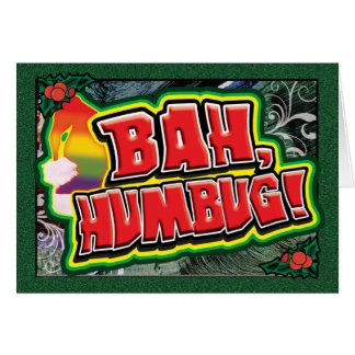Gay Cards - Bah Humbug