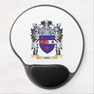 Gay Coat of Arms - Family Crest Gel Mouse Pad