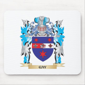 Gay Coat of Arms - Family Crest Mousepad