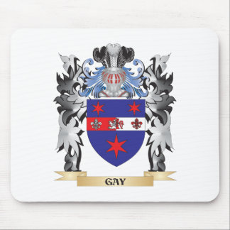 Gay Coat of Arms - Family Crest Mouse Pad