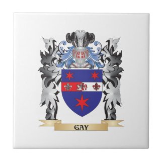 Gay Coat of Arms - Family Crest Tile