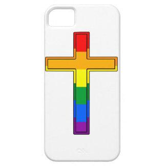 Gay Cross iPhone 5 Case