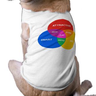 GAY DIAGRAM.png Doggie Tee Shirt