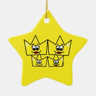 Gay family - Women - Queens - Ornament Star