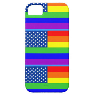 Gay flag iPhone 5 Case