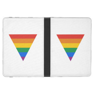 GAY FLAG TRIANGLE KINDLE COVER