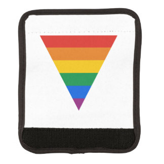 GAY FLAG TRIANGLE LUGGAGE HANDLE WRAP