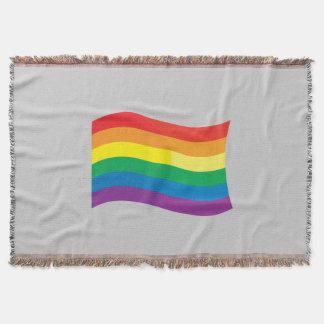 GAY FLAG WAVING