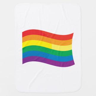 GAY FLAG WAVING PRAMBLANKETS