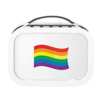 GAY FLAG WAVING YUBO LUNCHBOXES