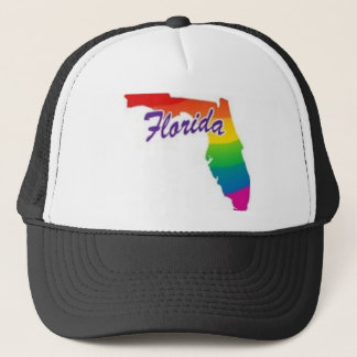 Gay Florida Trucker Hat