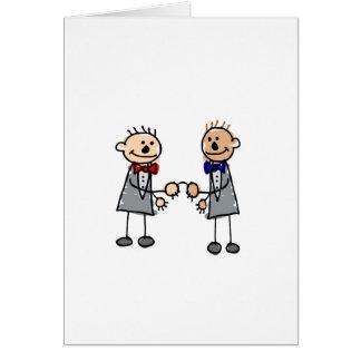 Gay Grooms Card