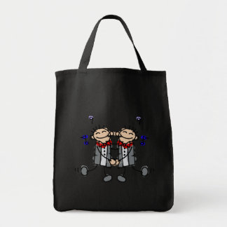 Gay Grooms first dance Tote Bag