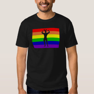 Gay Gym Bunny Pride Shirt