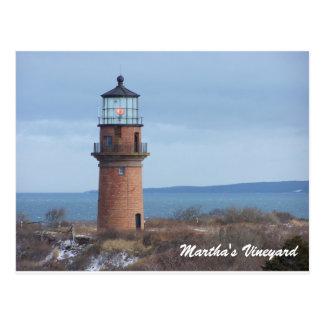 Gay Head Lighthouse Martha's Vineyard Post Card
