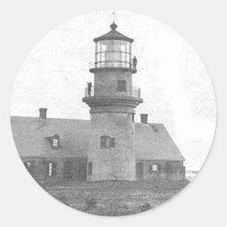Gay Head Lighthouse Round Sticker