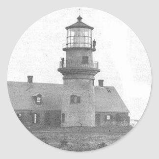 Gay Head Lighthouse Round Sticker