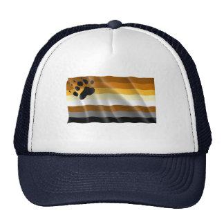 GAY HUMOR BEAR PRIDE FLAG CAP