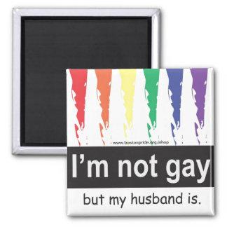 Gay Husband Magnet Square