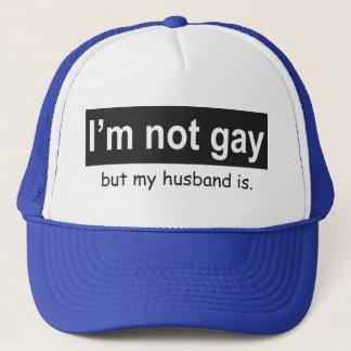 Gay Husband Trucker Trucker Hat