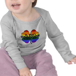 Gay Irish Sunnyside kids longsleeve Tshirt