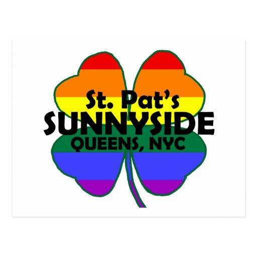 Gay Irish Sunnyside postcard