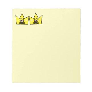 Gay King Crown King Crown Notepad