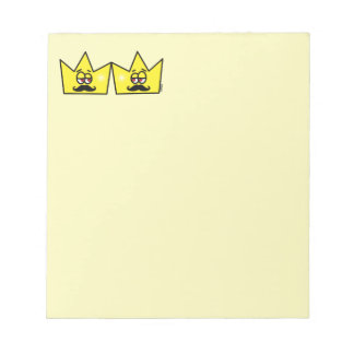 Gay King Crown King Crown Notepads