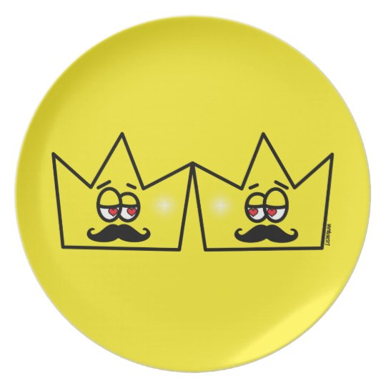 Gay King Crown King Crown Plate