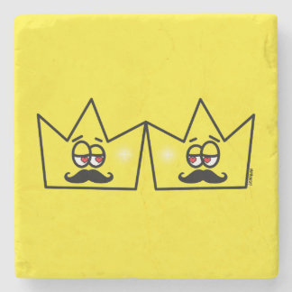 Gay King Crown King Crown Stone Coaster