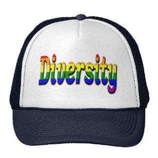 Gay & Lesbian  Diversity In rainbow flag Colors Cap