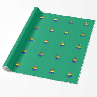 Gay/Lesbian/Rainbow Pride Christmas Wrapping Paper