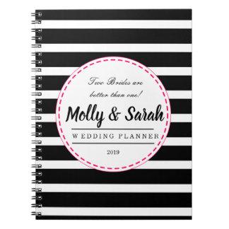 Gay Lesbian Wedding Planner Organizer NOTE BOOK