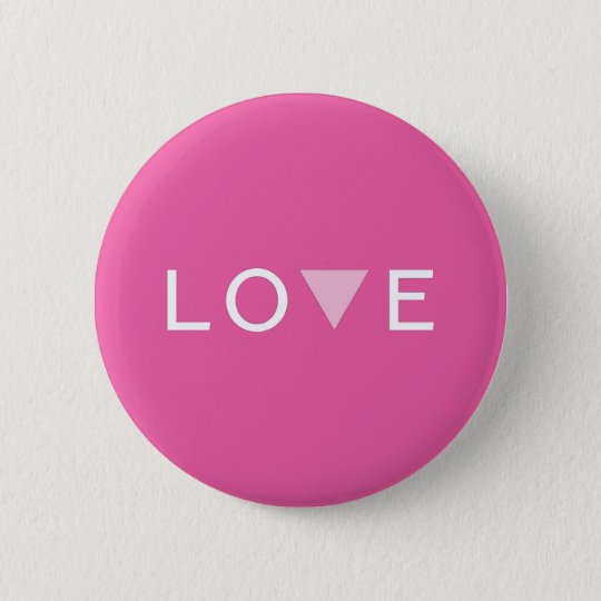 Gay Love and Pride 6 Cm Round Badge