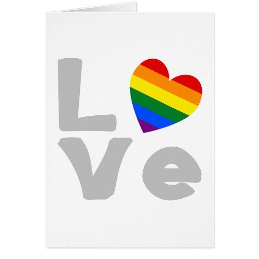 Gay Love Grey Cards