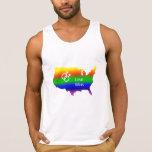 Gay Love Wins! Tank Top