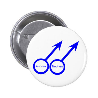 Gay Lovers Customizable Button