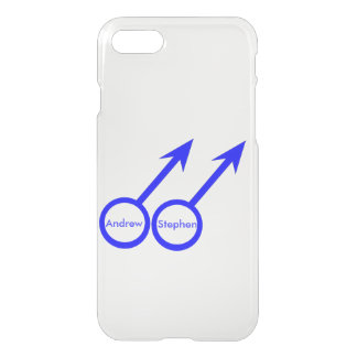 Gay Lovers Customizable iPhone Case