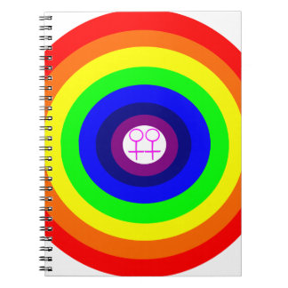 Gay Lovers Customizable Notebook