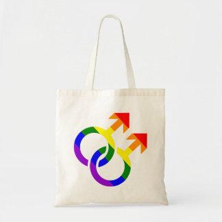 Gay male rainbow
