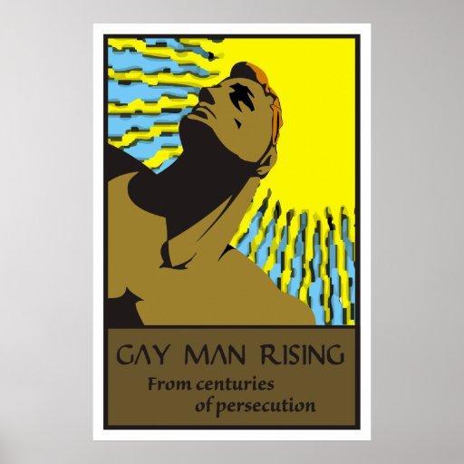 Gay Man Rising 2 Posters