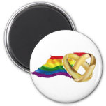 Gay Marriage 6 Cm Round Magnet