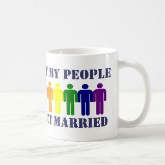 Gay Marriage and Equality Coffee Mug