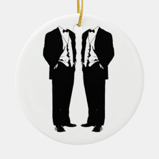 Gay Marriage Christmas Ornament