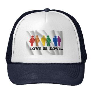 GAY MARRIAGE FLAG CAP
