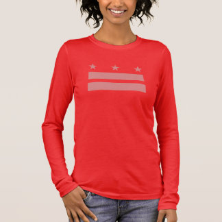 Gay Marriage Flag of DC Long Sleeve T-Shirt