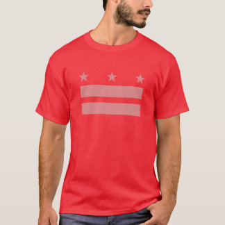 Gay Marriage Flag of DC T-Shirt